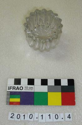 Ink Well: Glass; 1900-1909; 2010.110.4