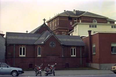 Photographic Negative: Nurses Memorial Chapel at Christchurch Hospital, 1985