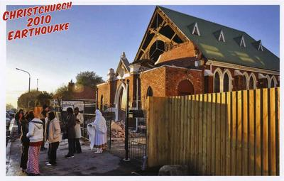 Postcard: Christchurch 2010 Earthquake Series: St Mary and St Athanasios Coptic Orthodox Church