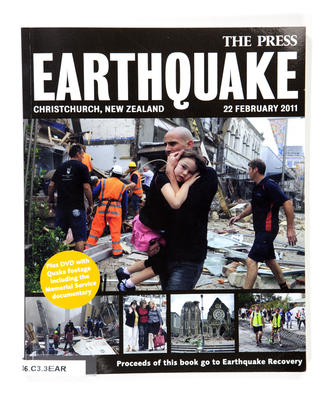 Book & DVD: Earthquake : Christchurch New Zealand 22 February 2011