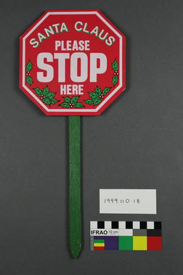 sign, novelty Stop