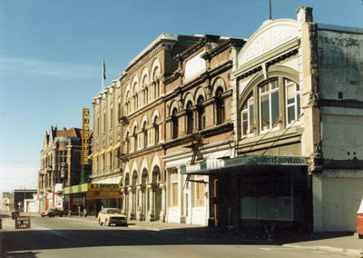 Photographic Negative: AJ White Department Store, Tuam Street, 1985