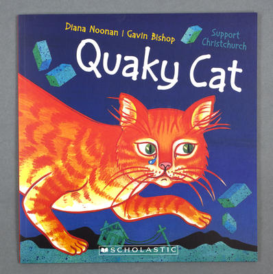 Book: Quaky Cat