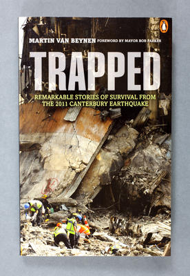 Book: Trapped: Remarkable Stories of Survival from the 2011 Canterbury Earthquake