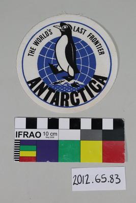 Patch: The world's last frontier, Antarctica