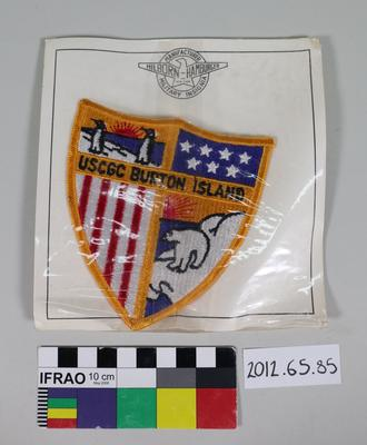 "Patch: ""USCGC Burton Island"""