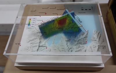 3-D Model: Port Hills Faults