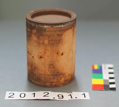 Tin: Horlick's Malted Milk Powder