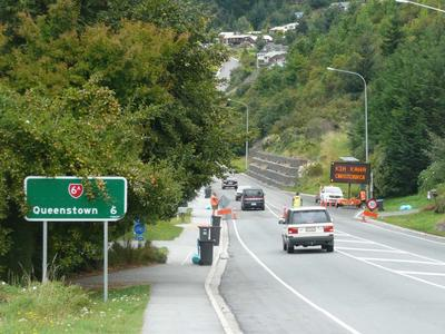 Digital Photograph: Queenstown Kia Kaha Christchurch