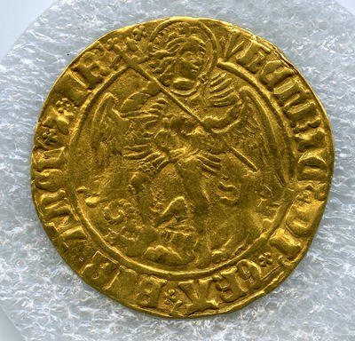 Coin: Henry VII Angel, 1507-1509