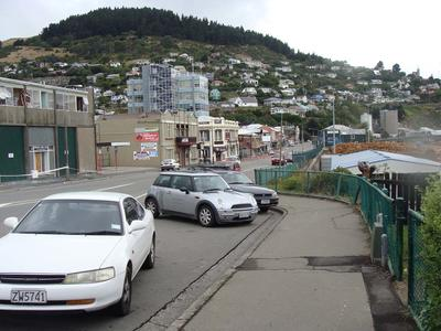 Digital Photograph: Earthquake Damage on Norwich Quay, Lyttelton