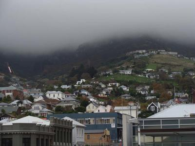 Digital Photograph: Lyttelton looking north from the Oxford Street Overbridge