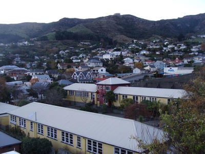 Digital Photograph: Lyttelton Main School