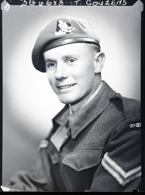 Film negative: Corporal T Couzens