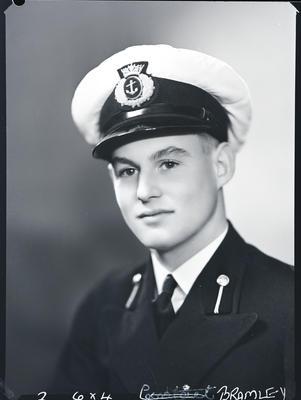 Film negative: Mr Bramley, Navy