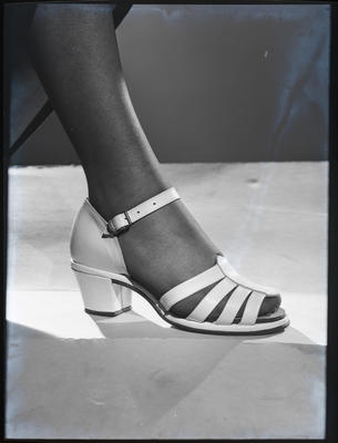 Film negative: Eastmonds, foot and shoe