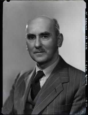 Film negative: Mr Adams