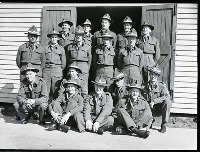Film negative: K Force, platoon photo