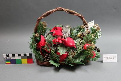 basket, novelty Christmas