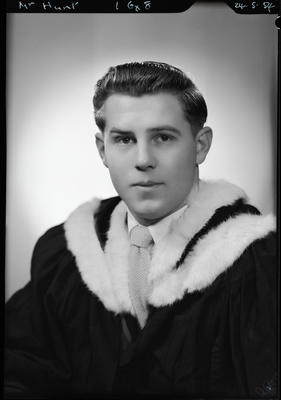 Film negative: Mr Hunt, graduate