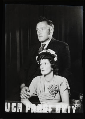 Film negative: Mr Ray, couple