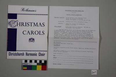 programme, concert; 1971; ;