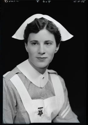 Film negative: Nurse Drain