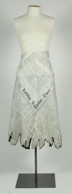costume, part of a fancy dress
