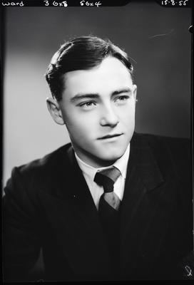Film negative: Mr Ward