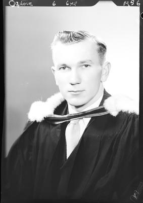 Film negative: Mr Ogilvie, graduate