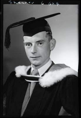 Film negative: Mr Shearer, graduate