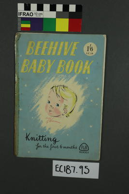 booklet, knitting