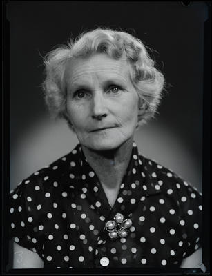 Film negative: Mrs Bigg