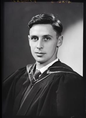 Film negative: Mr Oxford, graduate