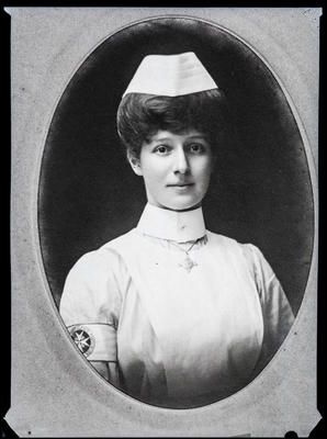 Film negative: Mrs Malcolm Robertson, Nurse