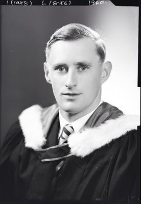 Film negative: Mr Prankerd, graduate