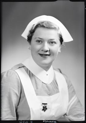 Film negative: Nurse Rooney; 26 Oct 1954; 1992.96.3393