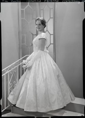 Film negative: Miss Hunter, debutante