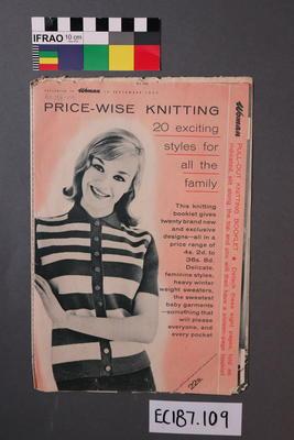 booklet, knitting