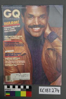 magazine, men's fashion