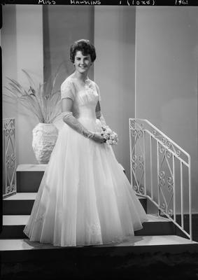 Film negative: Miss Hawkins, debutante; 1961; 1992.96.3909