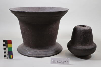 mortar & pestle; Mid 19th Century-Late 19th Century; ;
