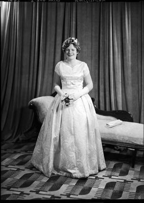 Film negative: Miss Amburger, debutante