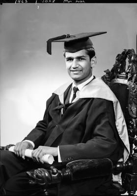 Film negative: Mr Lah, graduate