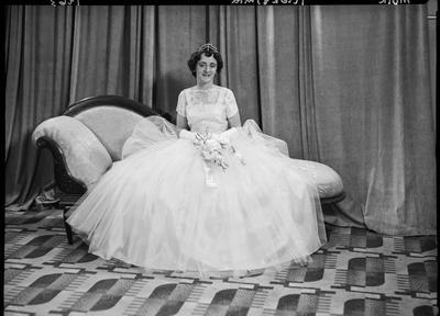 Film negative: Miss Muir, debutante; 1963; 1992.96.4166