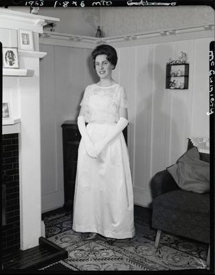 Film negative: Miss McGuiniety, debutante