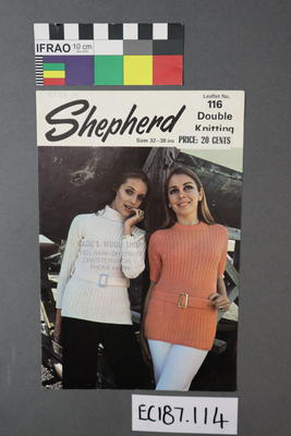 pamphlet, knitting pattern
