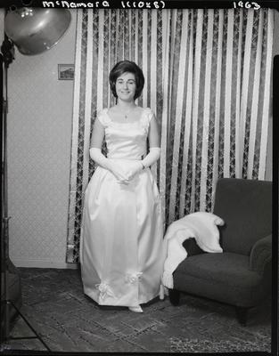 Film negative: Miss McNamara, debutante