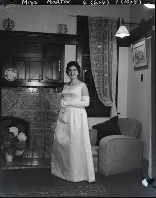 Film negative: Miss Martin, debutante