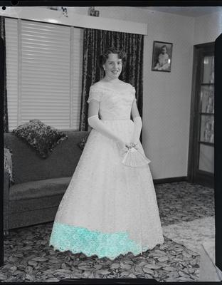 Film negative: Miss Campbell, debutante